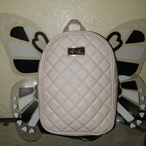 BETSEY JOHNSON MINI BUTTERFLY BACKPACK